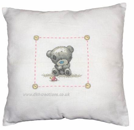 Me To You Tiny Tatty Nursery Cushion Cross Stitch Kit