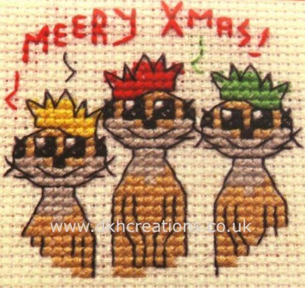 Meery Christmas Cross Stitch Kit
