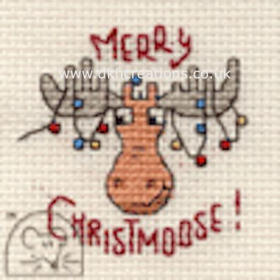 Merry Christmoose Cross Stitch Kit