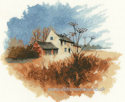 Old Farmhouse Cross Stitch Kit