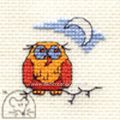 Old Ollie Owl Cross Stitch Kit