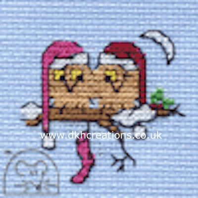 Owls Together Cross Stitch Kit