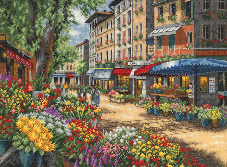 Paris Market Cross Stitch Kit