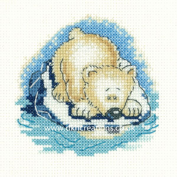 Paula Bear Cross Stitch Kit