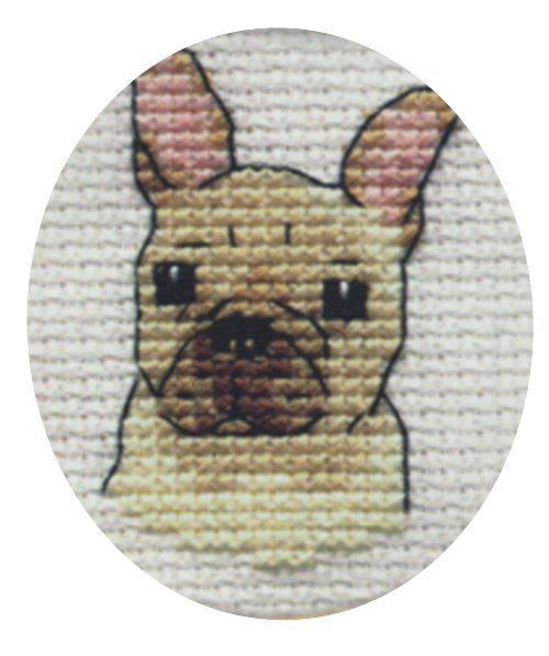 Paw Prints Cross Stitch