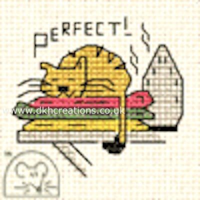 Perfect ! Biscuit The Cat Cross Stitch Kit