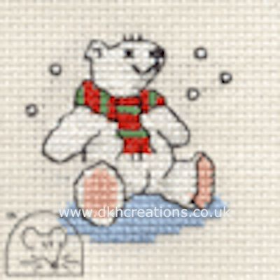Polar Bear Cross Stitch Kit