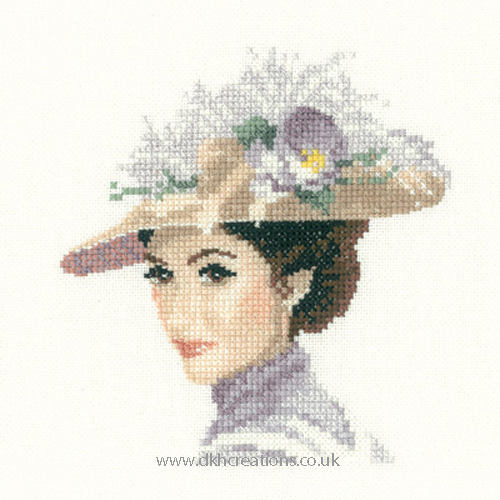 Rebecca Miniature Evenweave Cross Stitch Kit