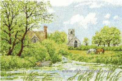 River Ant At Irstead Cross Stitch Kit
