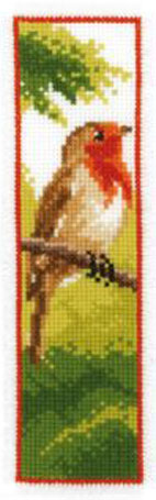 Robin Bookmark Cross Stitch Kit