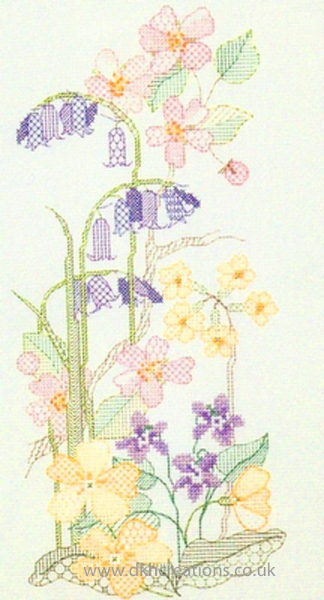 Seasons Panels Spring Cross Stitch Kit