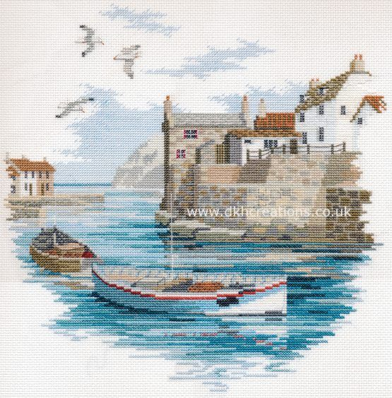 Secluded Port Cross Stitch Kit