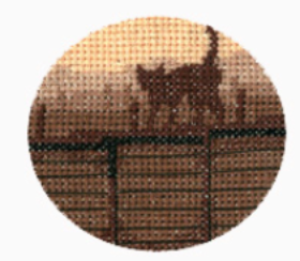 Silhouettes Cross Stitch