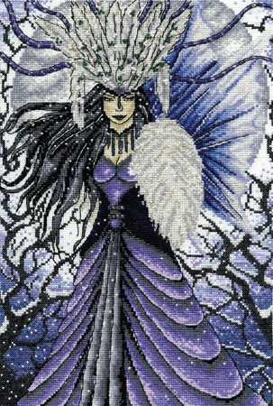 Snow Queen Fairy Cross Stitch Kit