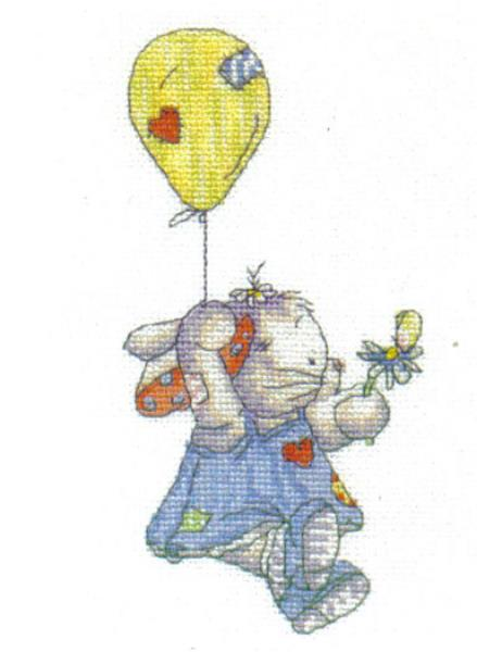 Somebunny To Love Up In The Sky Cross Stitch Kit