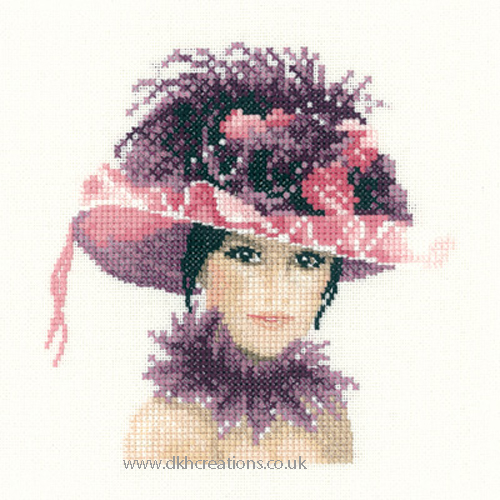 Sophia Miniature Evenweave Cross Stitch Kit
