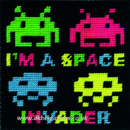 Space Invader Tapestry Kit