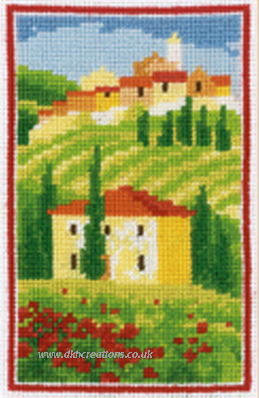 Splendid Colours Of Tuscany Cross Stitch Kit