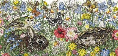 Spring Countryside Cross Stitch Kit