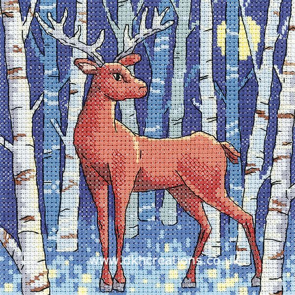 Stag Cross Stitch Kit