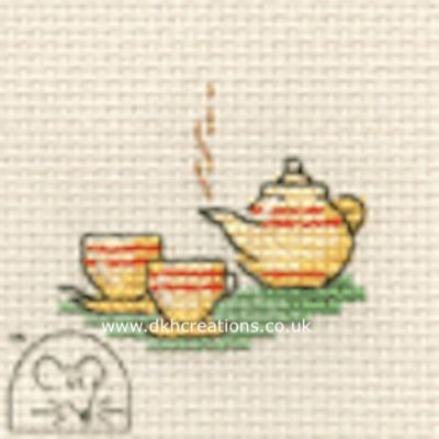 Tea For Two Tiddlers Cross Stitch Kit