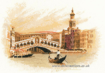 The Rialto Cross Stitch Kit