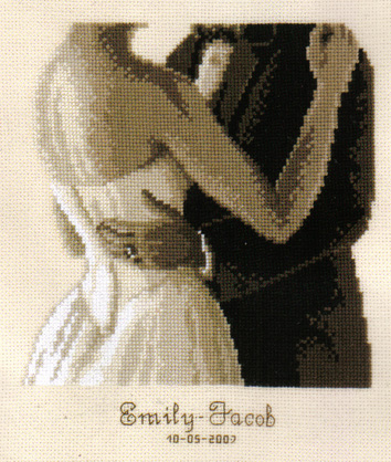 To Have and To Hold Wedding Sampler Cross Stitch Kit