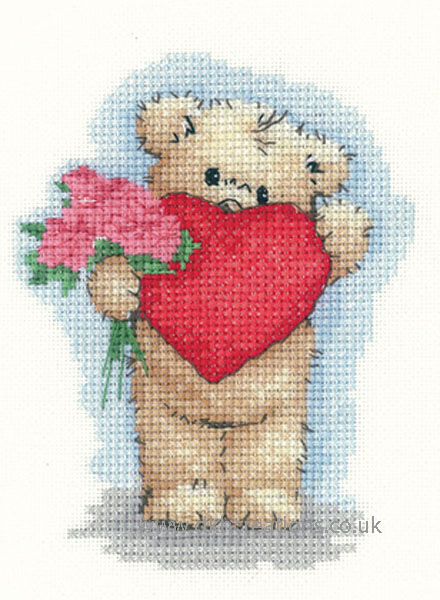 Toffee With Heart Cross Stitch Kit