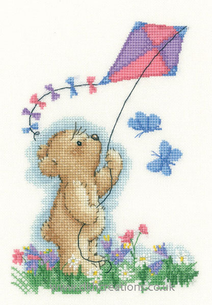Toffee With Kite Cross Stitch Kit