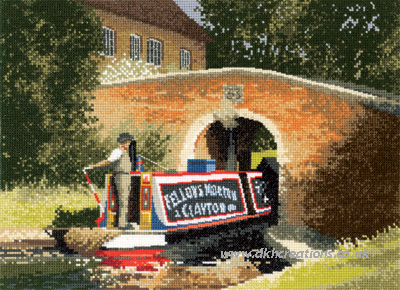 Under The Bridge Cross Stitch Kit