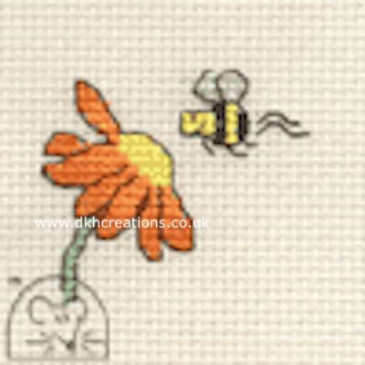 Visiting Bee Tiddlers Cross Stitch Kit