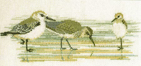 Waders Cross Stitch Kit