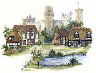 Warwickshire Village Cross Stitch Kit