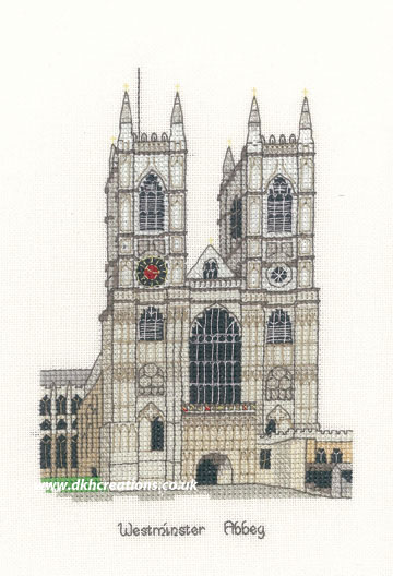 Westminster Abbey Cross Stitch Kit