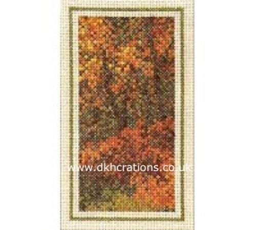 Woodland Autumn  Cross Stitch Kit