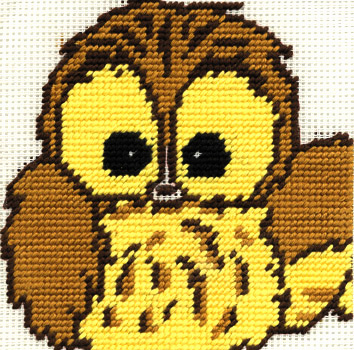 Woodland Folk Ollie Owl Tapestry Kit