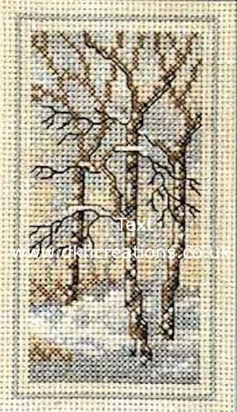Woodland Winter Cross Stitch Kit