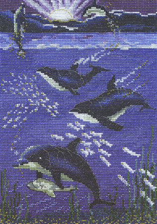 World Of Water Cross Stitch Kit