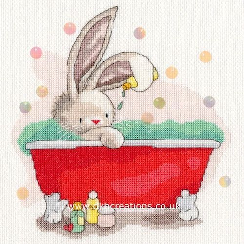 BEBUNNI ME TIME CROSS STITCH KIT